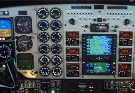 King Air C90 Garmin GTN625