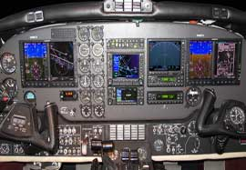 King Air F90 Dual Garmin G600