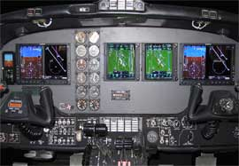 King Air F90 Dual Garmin G600, ADSB, Dual GTN750