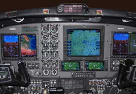 King Air 200 Dual G600 Garmin, ADSB