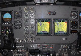 King Air 300 Dual Garmin GTN750, ADSB
