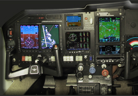 Mooney M20J Garmin G500